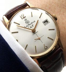Rare Original Real Madrid Vintage Watch