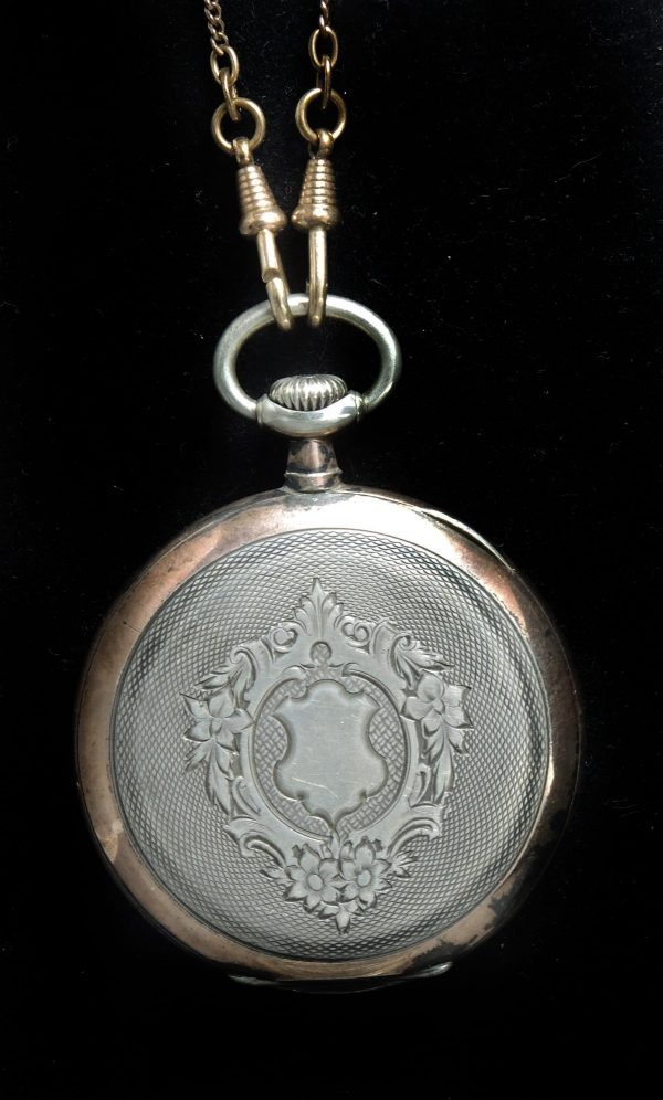 Omega Pocket Watch Vintage Rose gold plated silver ...
