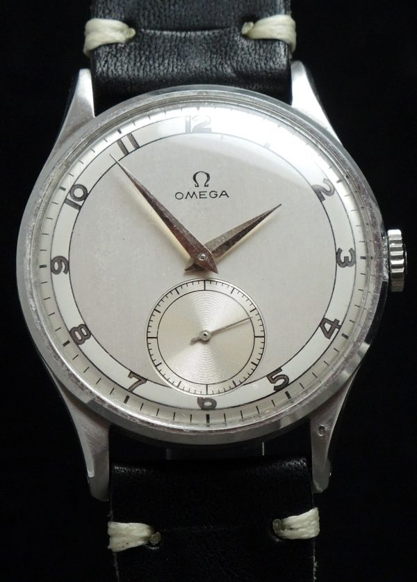 Omega Oversize Jumbo 38mm Vintage two tone dial