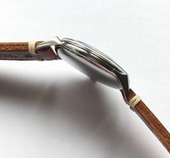 Tadellose Omega 38mm Oversize Jumbo schwarzes ZB Krabbengehaeuse