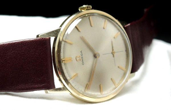 Serviced Omega Solid Gold Vintage