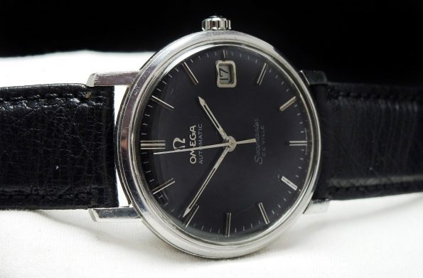 Omega Seamaster De Ville black dial Automatic
