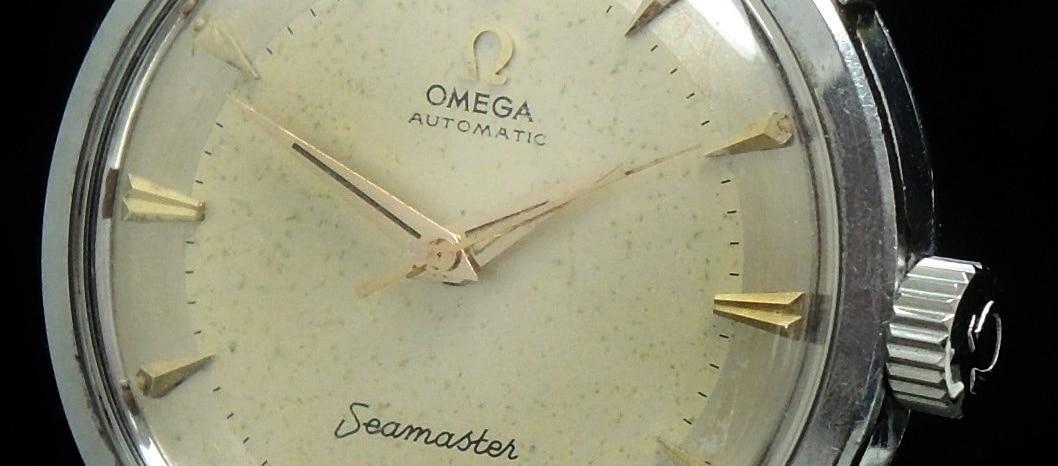 Originale Omega Seamaster Automatik Vintage Big Seahorse