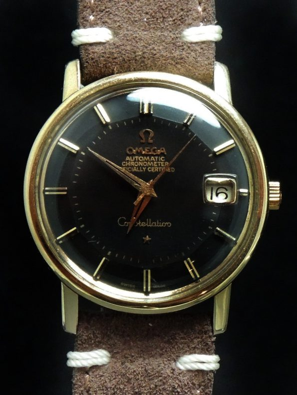 1967  Omega Constellation back dome dial
