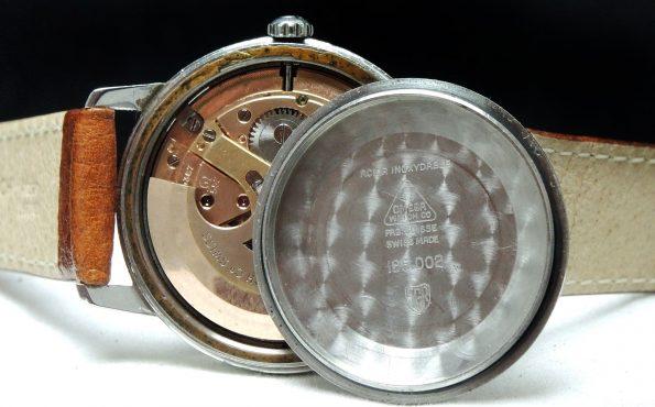1967 Seltene Omega Seamaster Automatic Explorer dial steel