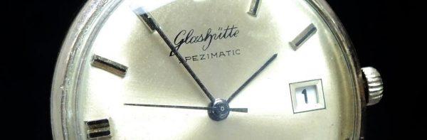 Vintage Glashütte 35mm Automatic Spezimatic