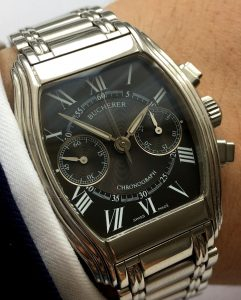 Serviced  Bucherer Archimedes Chronograph Steel