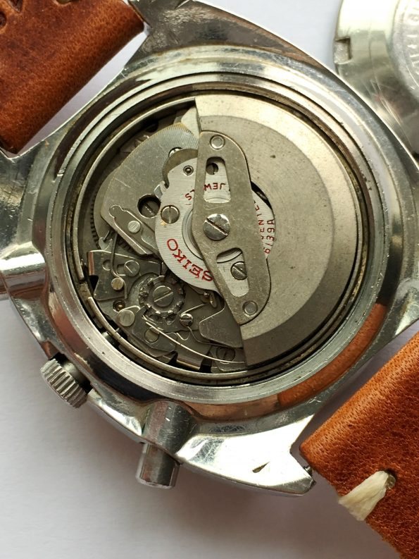 Genuine Seiko Pepsi Chronograph Automatic