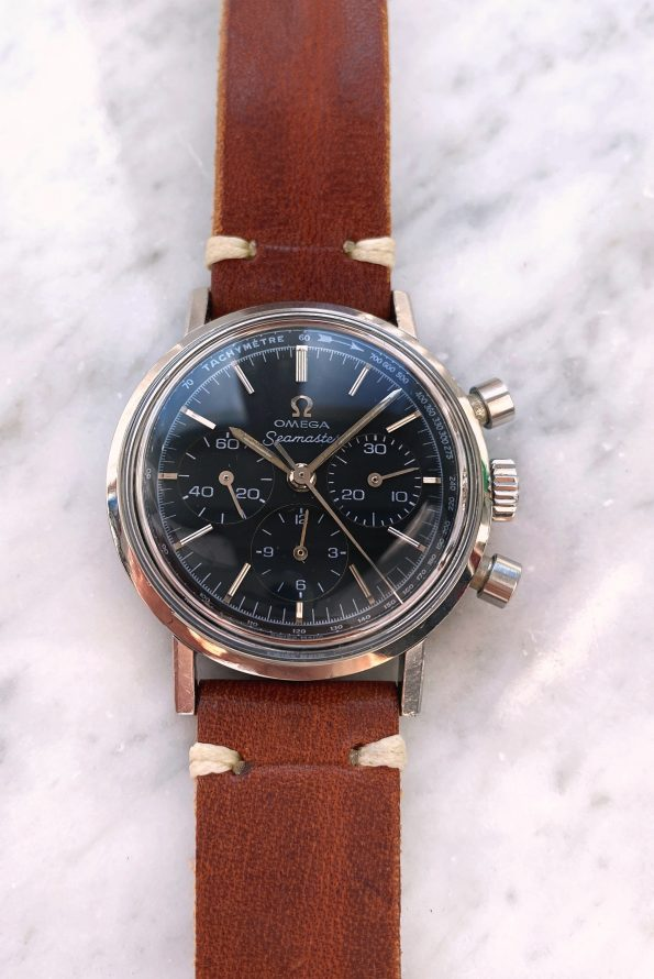 Wonderful Omega Seamaster Chronograph cal 321 from 1966 35mm ref 105.005 Vintage restored dial
