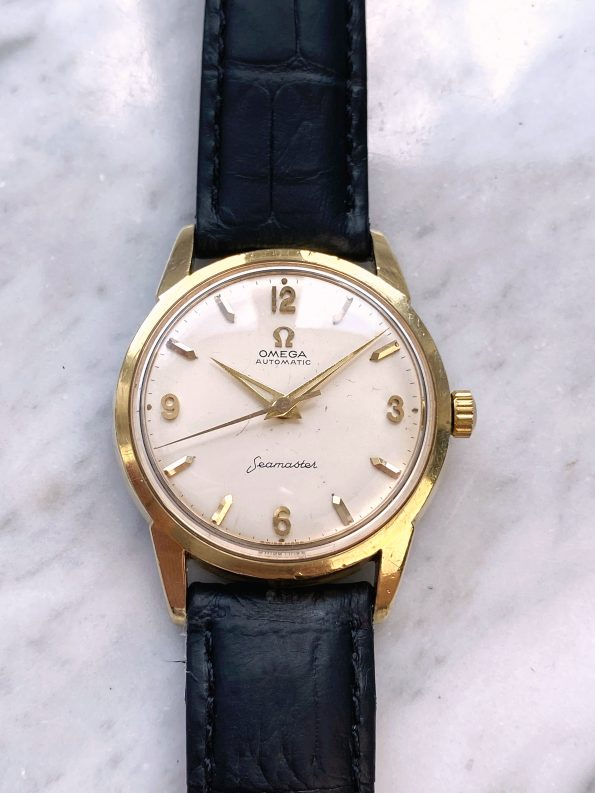 Serviced Omega Seamaster Automatic Vintage Gold Plated Explorer Dial 14705