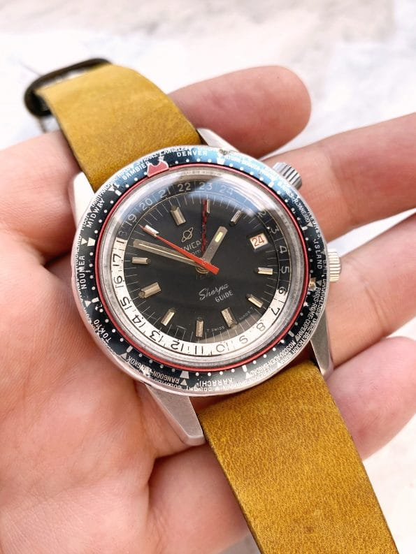 Serviced Enicar Sherpa Guide 600 Diver