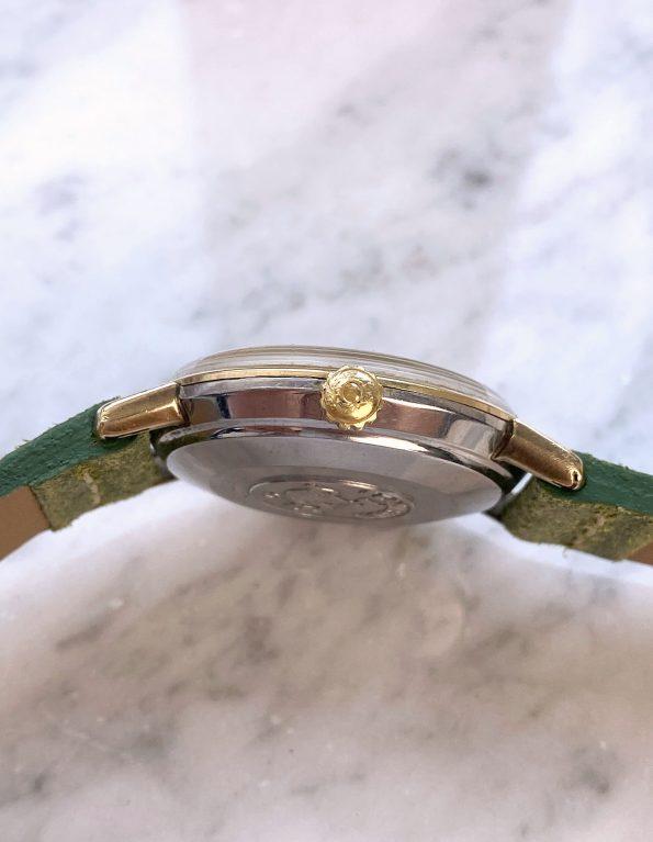 Vintage Omega Seamaster De Ville Double Signed Türler Automatic Date