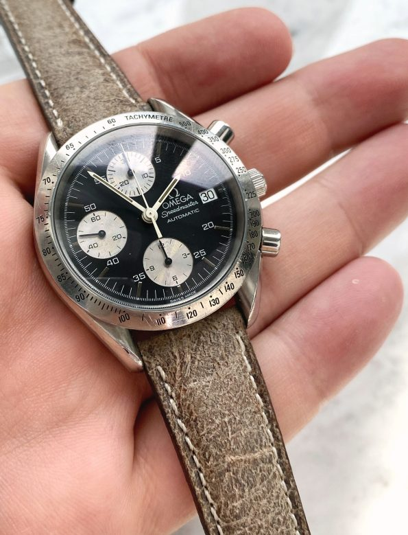 Vintage Omega Speedmaster Reduced Automatic Reverse Panda Dial Automatic 1750043 3750043