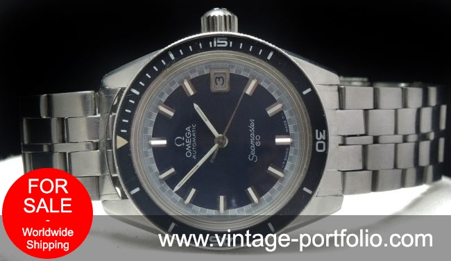 Perfect Omega Seamaster 60 Automatic Vintage