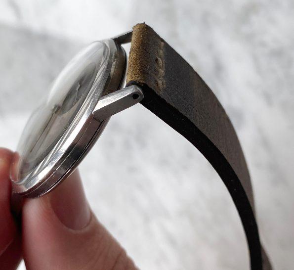 Beautiful 37mm Omega Oversize 30t2 Jumbo Watch RARE Two Tone Bullseye Dial