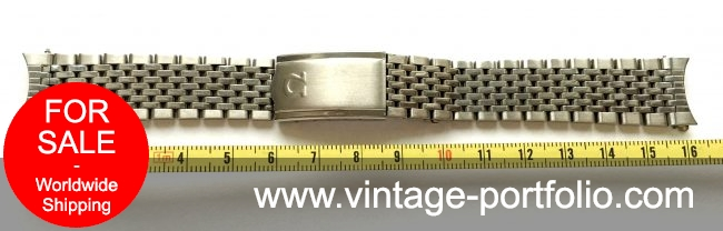 Omega Beeds of Rice Steel 18mm Strap