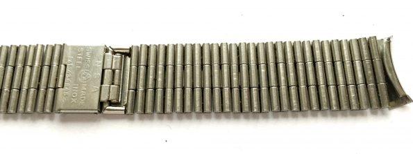 Original Jaeger LeCoultre Steel strap 18mm