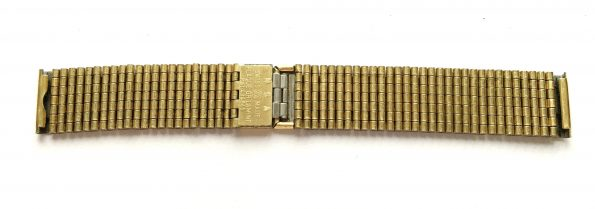 Gold Plated Nivada Strap 18mm