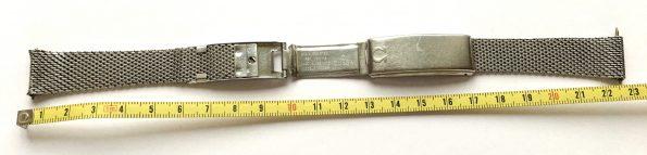 Omega Mesh Strap Steel 18mm