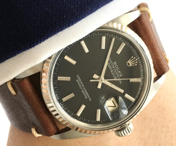 Currently in Service: Rolex Datejust Automatic Automatik  with black dial