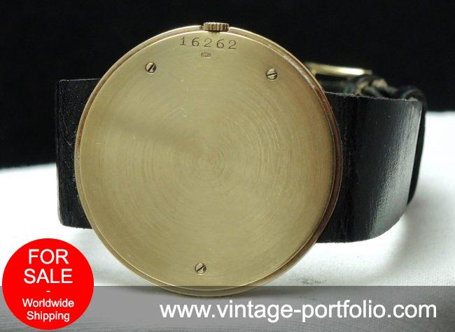 Ultradünne 35mm Vintage Audemars Piguet in Vollgold