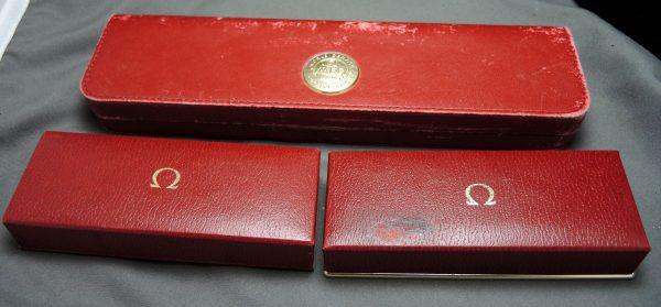 Vintage Omega Boxes