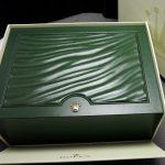 Genuine Rolex Box in green