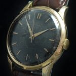 Black dialed Baume Mercier Vintage Watch