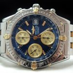 Top Breitling Chronomat Vintage Automatic  Steel Gold