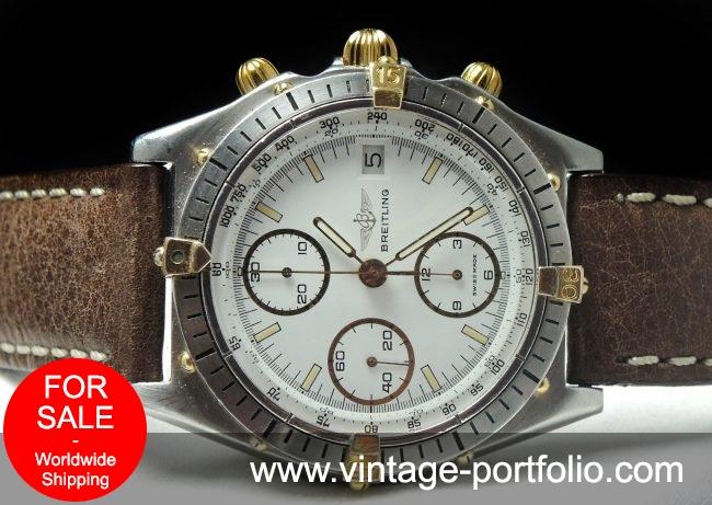 Breitling Chronomat Vintage Automatic  white dial