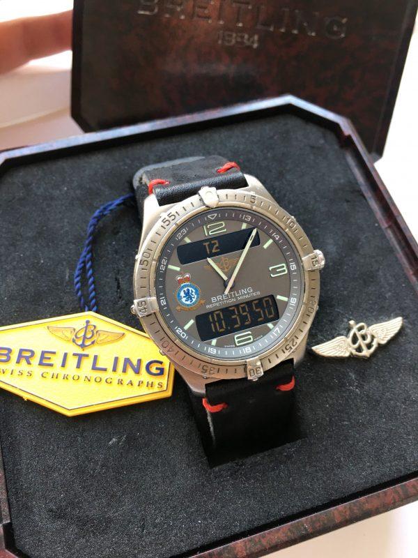 Breitling Navitimer Titan Repetition Royal Air Force Quarz