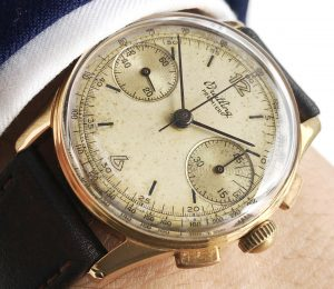 Breitling Premier Chronograph Rotgold Damen a1758 (1)