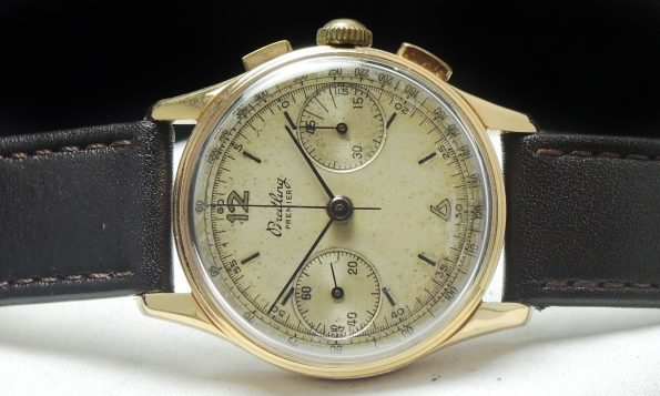 Breitling Premier Vintage Chronograph Rose Gold Lady Damen Ladies