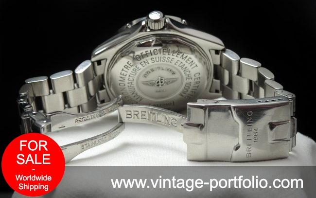 Breitling Superocean Automatic with Breitling Strap