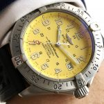 Breitling Superocean Diver Professional Automatic Yellow Dial