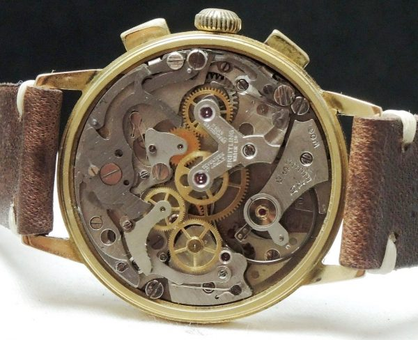 Rare Breitling Top Time in solid gold case