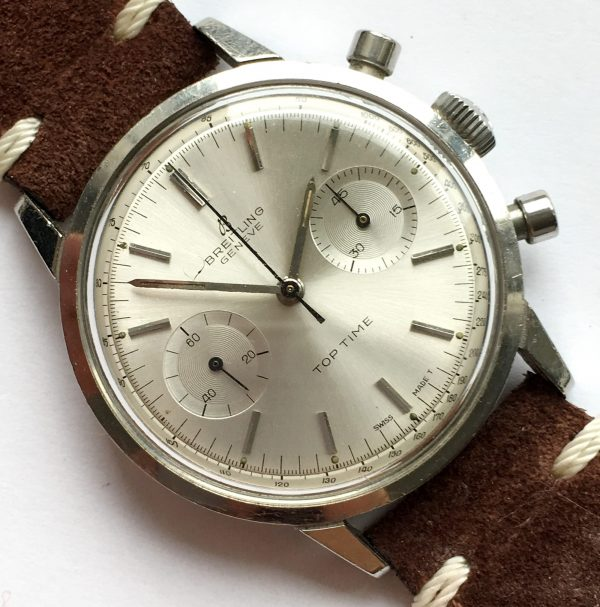 Perfect Breitling Top Time Chronograph in Steel