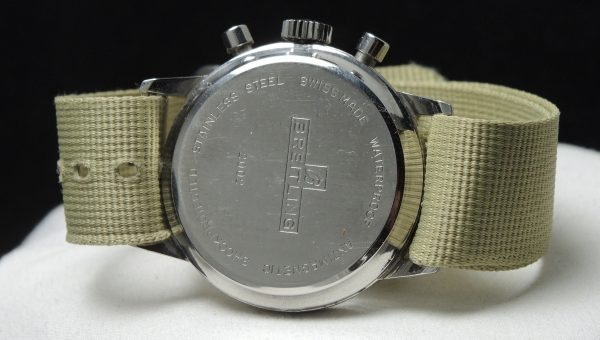 Perfect Vintage Breitling Top Time Steel