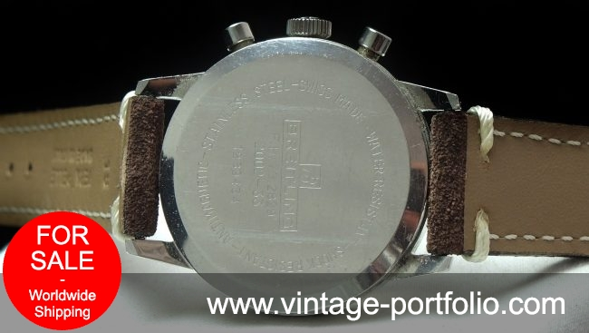 Vintage Breitling Top Time Panda Dial and red second hand