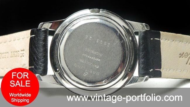Rare Breitling Vintage Automatic Steel