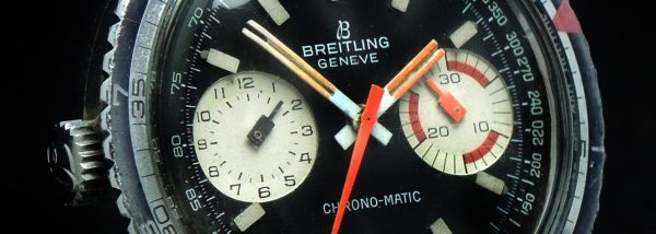 Rare Breitling Vintage Chrono Matic stainless steel