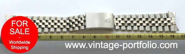 Original Rolex Jubilee Steel Strap
