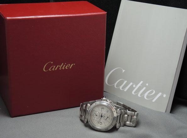 Original Cartier Pascha Pasha Power Reserve Full Set