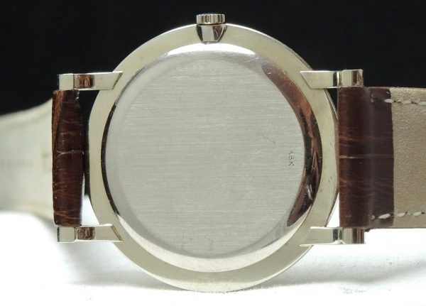Vintage Corum Calatrava 18 karat Solid White Gold Ladies