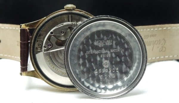 Rare IWC watch with Date Automatic Automatik Vintage