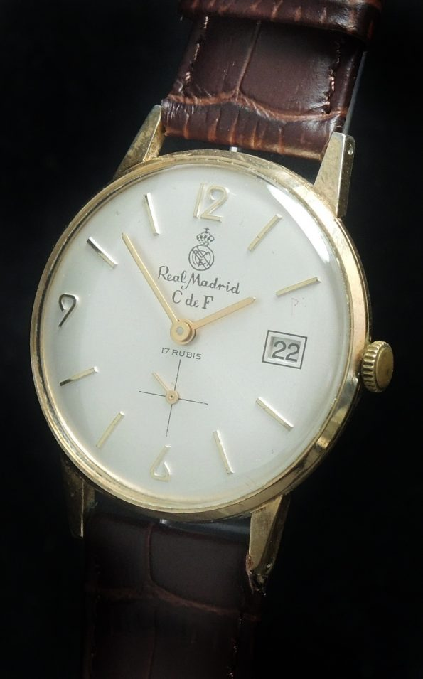 Rare Original Real Madrid Vintage Watch