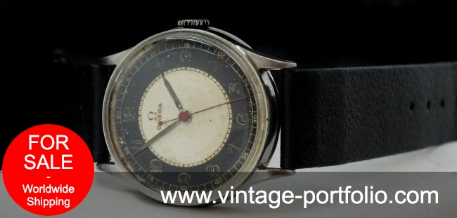 Early Omega Medicus Doctors Watch Two Tone Scientific dial