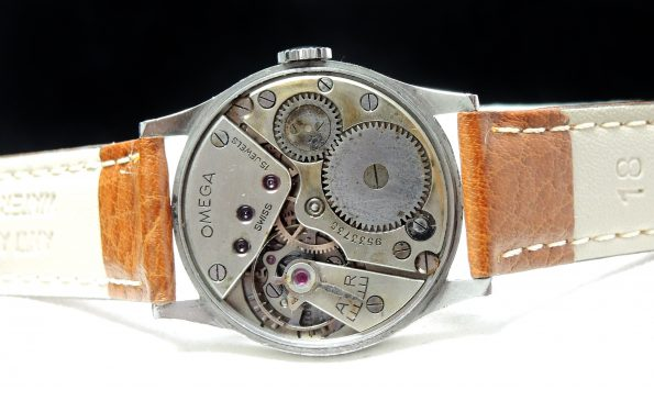 Wonderful 32mm Art Deco Omega Handwinding with Multicolor Dial 30t2