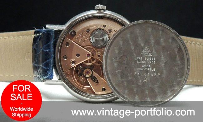 Ladies Omega Geneve Steel Silver dial