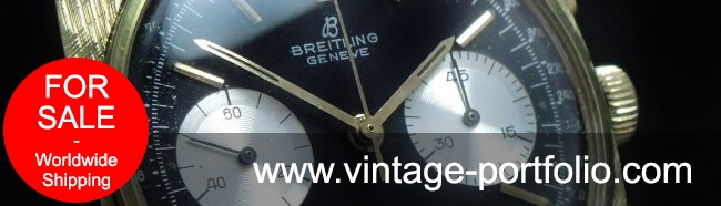 Square Breitling Top Time Reverse Black Panda Dial